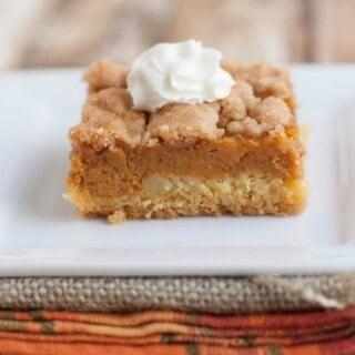 Pumpkin Pie Dessert Squares