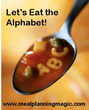 Eating the Alphabet Healthy Recipe Challenge | hosted by MealPlanningMagic.com