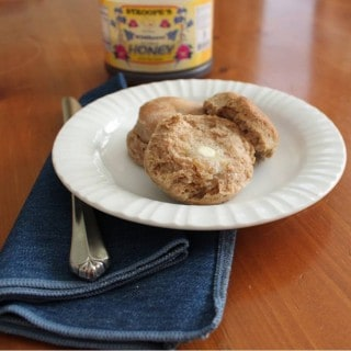 Whole Wheat Buttermilk Biscuits Recipe–Freezer Friendly Too!