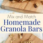 Homemade Granola Bars are so easy to make yourself, you'll wonder why you've never made them before. This recipe allows you to customize the ingredients to suit your family's taste. Get the recipe at MealPlanningMagic. com