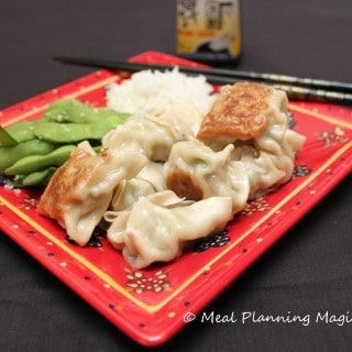 Chicken and Cabbage Potstickers