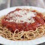 Slowcooker Homemade Spaghetti Sauce