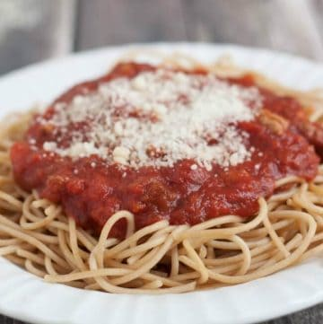 Slowcooker Homemade Spaghetti Sauce