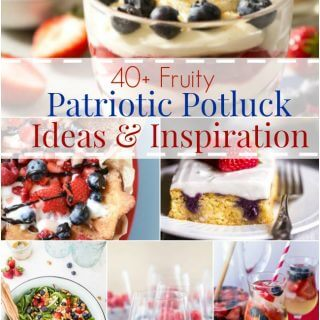 Patriotic Potluck Ideas and Inspiration