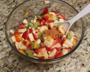 Fruity kiwi salsa is an easy-to-make fruit salsa, delicious for serving as a snack or on top of grilled chicken or fish. This easy homemade salsa recipe is quick to make, too!