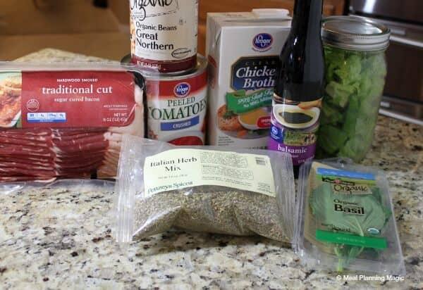 Super Simple BLT Soup   MealPlanningMagic.com