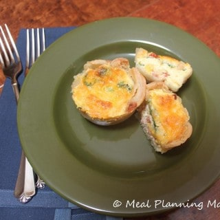 Customizable Egg Beaters Mini Quiches Recipe