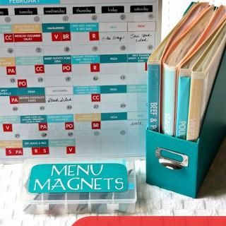 8 Meal Planning Board Tutorials {Pinterest Inspiration}