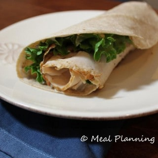 Chicken Caesar Salad Wrap Recipe