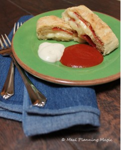 Pizza roll bread is an easy weeknight dinner recipe, made using a Chef Boyardee pizza kit. This is a kid-friendly meal that the whole family will love.