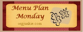 Weekly Menu Plan plus Halloween planning & a Produce for Kids Twitter Chat