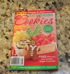 Christmas cookies cookbook cover