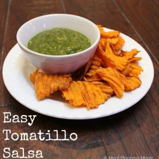 Easy Tomatillo Salsa