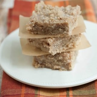 Apple Cinnamon Streusel Bars