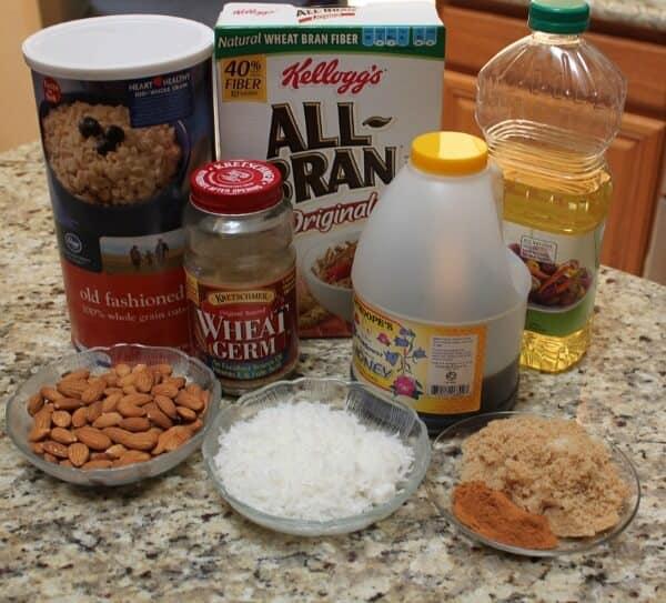 Simple Homemade Granola Recipe Ingredients | MealPlannigMagic.com