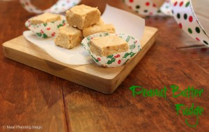 Peanut butter fudge is easy to make and delicious! It is the perfect homemade candy to make for holiday gifts, cookie exchanges, and dessert tables.