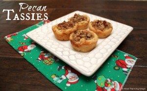 Pecan Tassies - Simple, classic holiday cookies that are easy to make! | Meal Planning Magic