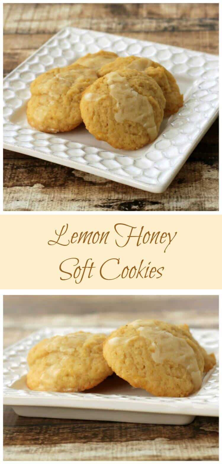 Lemon Honey Cookies, made with Greek yogurt, are a soft, pillowy cookie bursting with lemon flavor. So easy to make too! | Recipe at MealPlanningMagic.com
