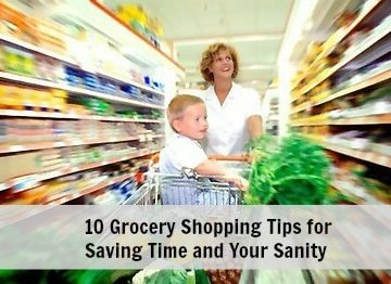10 Grocery Shopping Tips for Saving Time and Your Sanity | MealPlanningMagic.com