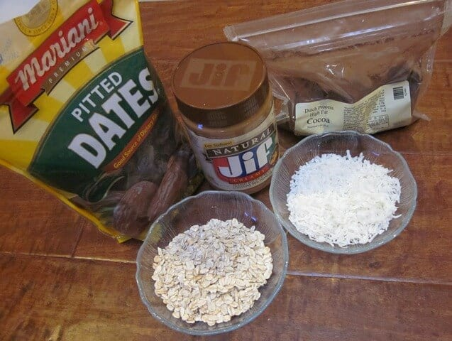 Just a few simple, natural ingredients is all it takes to whip up naturally sweetened no bake energy bites.
