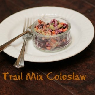 Trail Mix Coleslaw
