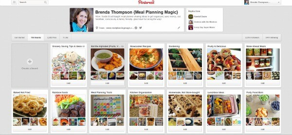 Over 100 boards and over 2, 000 pins on my Pinterest account.  Yep, I'd say I'm a certified recipe collector.