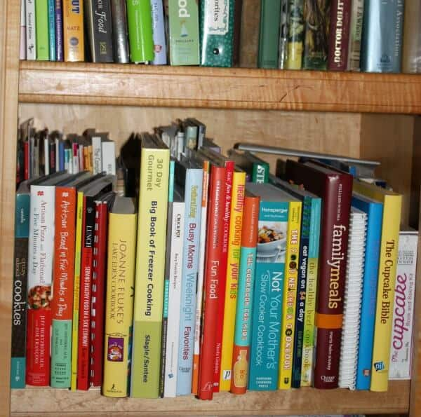 And another shelf. About half of the  remaining  third of books.