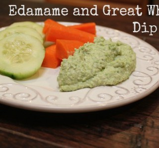 Edamame and Great Northern White Bean Dip Recipe