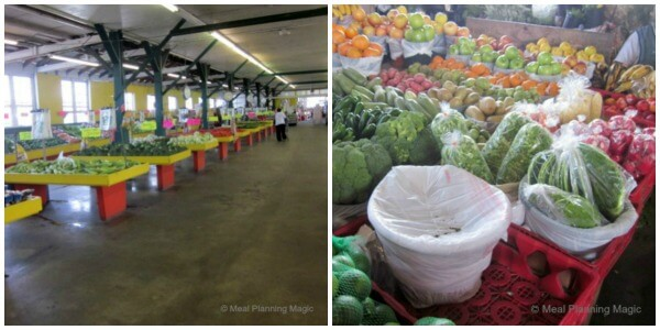 Canino's Market is HUGE! There is a main market and then beyond that is a more traditional farmers market with individual vendors selling produce, dry beans and other things. Neat!