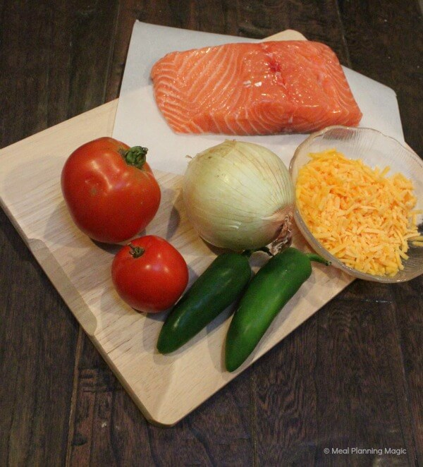 Just a few simple ingredients is all it takes to make fresh jalapeno salmon burgers