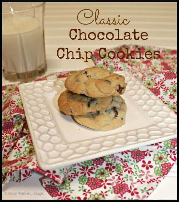 Classic Chocolate Chip Cookies Recipe--uses Zulka Morena sugar (non-GMO)