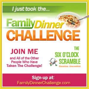 family dinner challenge