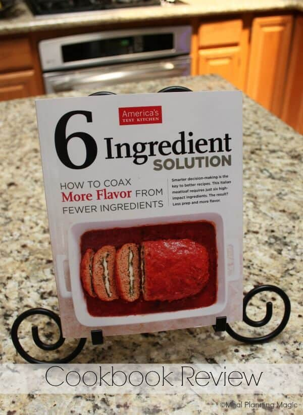 BLT Pasta recipe and Six Ingredient Solution Cookbook Review