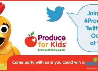 Weekly Menu Plan Plus #ProduceForKids Twitter Party and New Website!