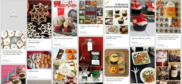 Halloween Pinterest Board Ideas-MealPlanningMagic.com