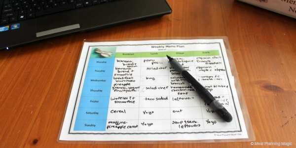How To Meal Plan--Simple Steps to Get Started   from MealPlanningMagic.com