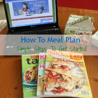 How to Meal Plan-Simple Steps to Get Started