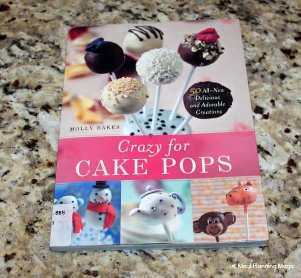 Crazy for Cake Pops cookbook, by Molly Baker