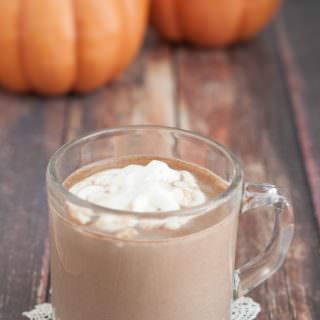 All-Natural Pumpkin Spice Hot Cocoa