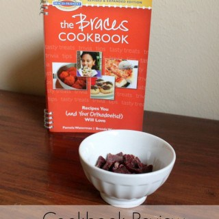 Braces Friendly Food – The Braces Cookbook Review #ad