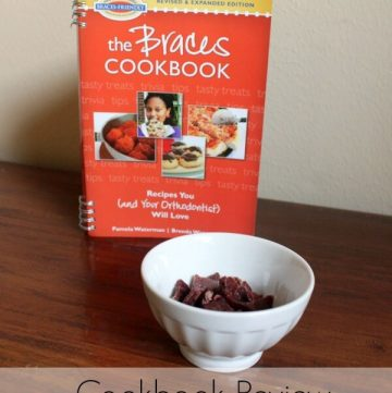 Braces Friendly Food - The Braces Cookbook review #ad | from MealPlanningMagic.com