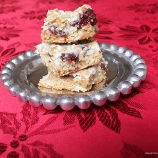 Cherry Oatmeal Bars