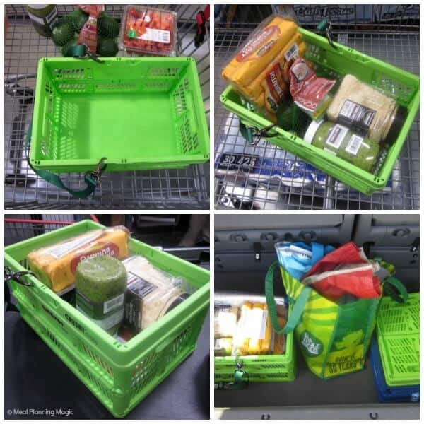 Reusable Grocery Crates -CRESBI Crates Review | MealPlanningMagic.com