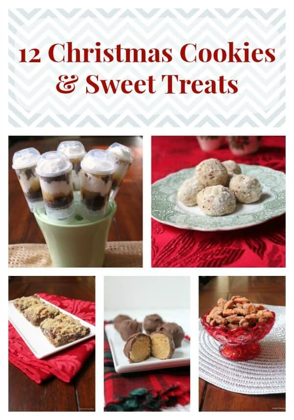 12 Christmas Cookies & Sweet Treats | #12wksxmastreats | MealPlanningMagic.com