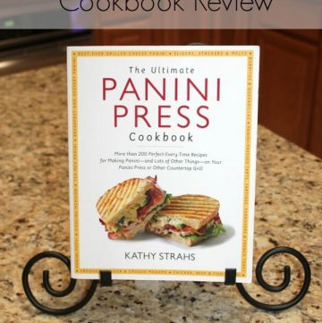 The Ultimate Panini Press Cookbook Review | mealplanningmagic.com | #ad
