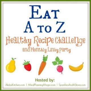Eating A to Z Healthy Recipe Challenge and Blog Hop-New for 2014!