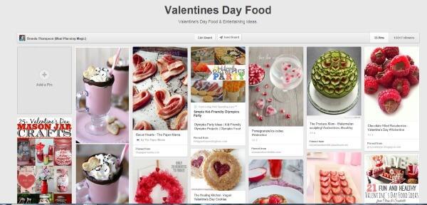 Valentine's Day Pinterest Board - MealPlanningMagic.com