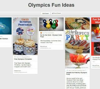 Olympics Inspired Menu & Activity Ideas