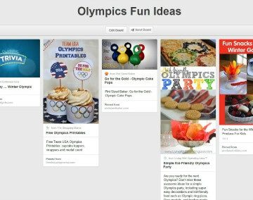 Olympics Inspired Menu & Activity Ideas