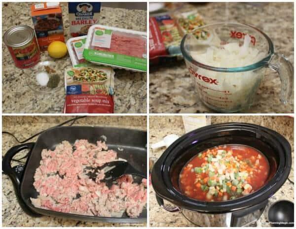 Slow Cooker Turkey Vegetable and Barley Soup | MealPlanningMagic.com